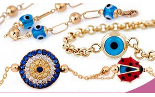 Gold Evil Eye Bracelets