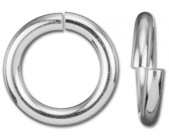 50pcs Sterling Silver Jump Rings