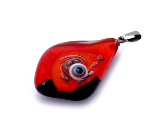 Glass Evil Eye Pendant