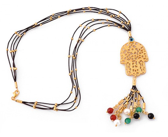 Hand of Fatima Protection Necklace