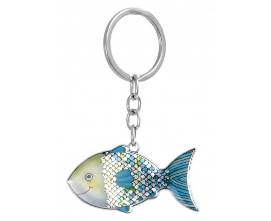 Cute Fish Keychain for Good Luck