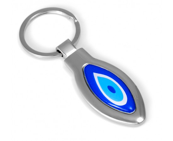 Evil Eye Keychain with God Luck Evil Eye