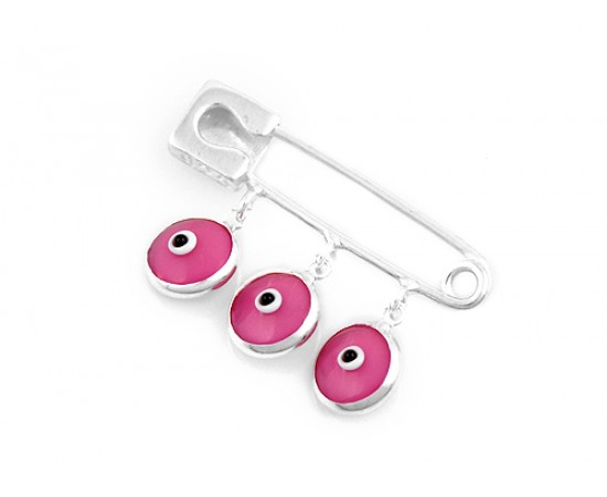Evil Eye Baby Protection Pin