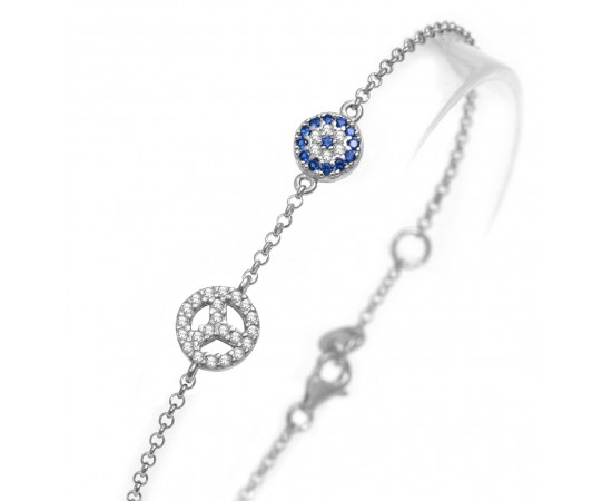 Peace and Luck Bracelet