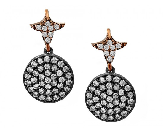 Glistening Cubic Zirconia Earrings