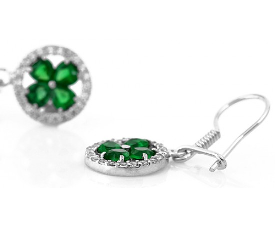 Shamrock Good Luck Earrings