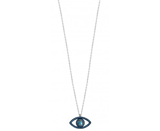 Blue Eye Necklace for Good Luck