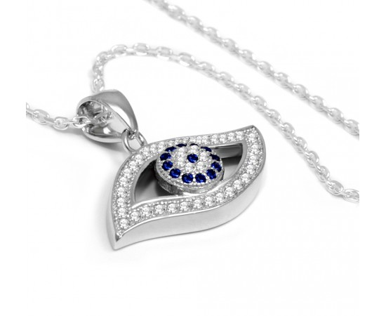 Evil Eye Necklace for Protection Against The Evil Eye