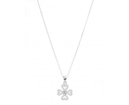 Four Leaf Clover Good Luck Necklace