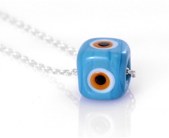 Lucky Blue Eye Necklace for Good Luck
