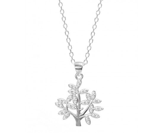 Silver Life Necklace