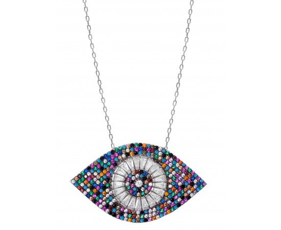 Luxury Evil Eye Necklace for Good Luck