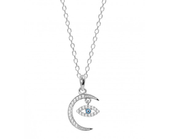 Sterling Silver Celestial Necklace