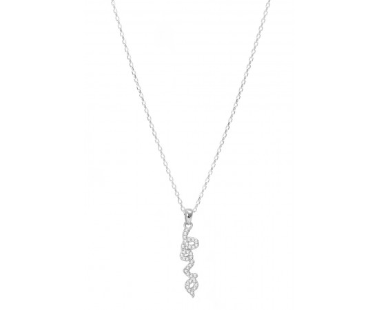 Sterling Silver The Love Necklace
