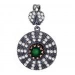 Artisan Crafted Emerald Pendant