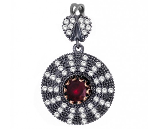 Artisan Crafted Ruby Pendant