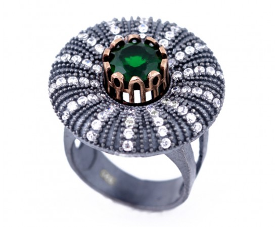 Artisan Crafted Emerald Ring