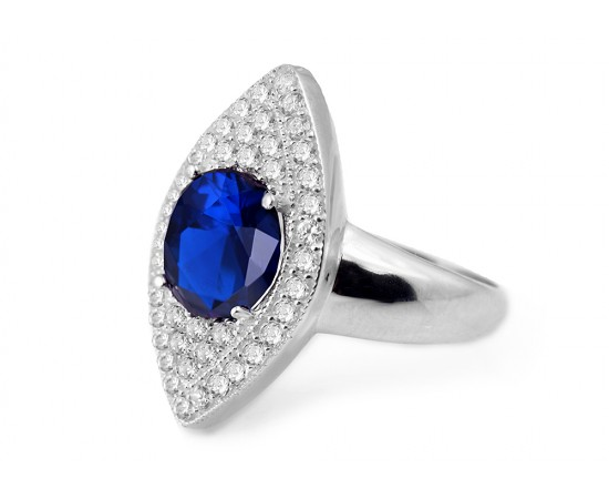 Hollywood Walk of Fame Sapphire Ring
