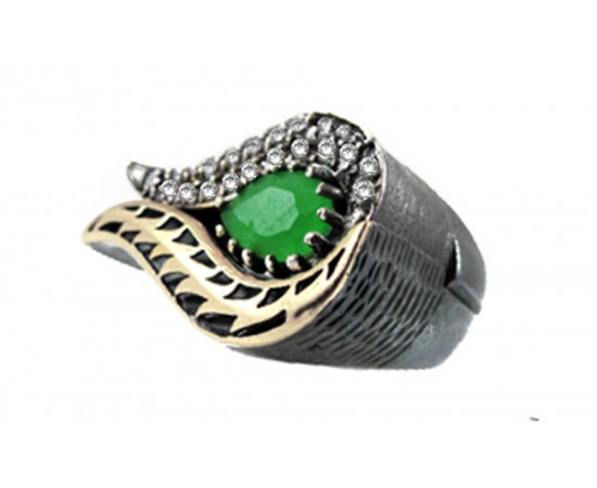Two Parts Tulip Ring