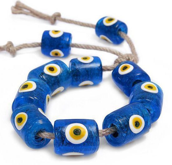 Ancient Turkish Eye Beads against the evil spirits