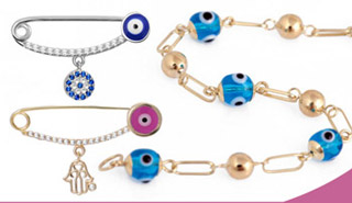 Evil Eye Baby Jewelry