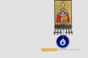 evil eye greek amulet