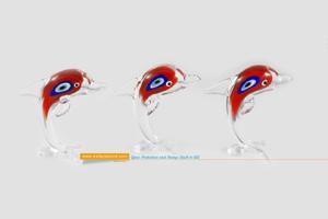 evil eye amulet 3 dolphins